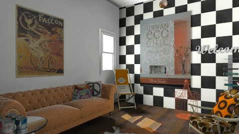 retro - Retro - Living room  - by bethany81