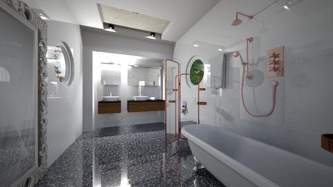 Bath_Interior - Modern - by Nikos Tsokos
