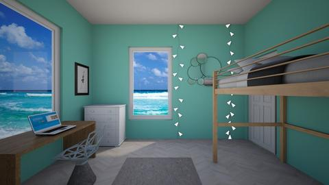ocean loft - Vintage - Kids room - by aschaper