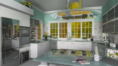 Modern Kitchen - Modern - Kitchen  - by Bibiche