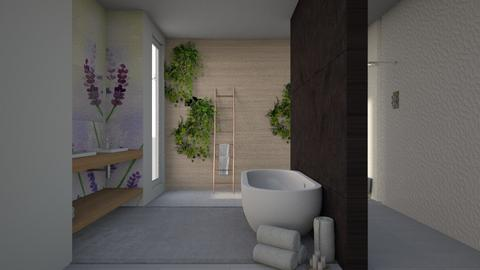 Quiet Lavender - Bathroom  - by Asha_Shade