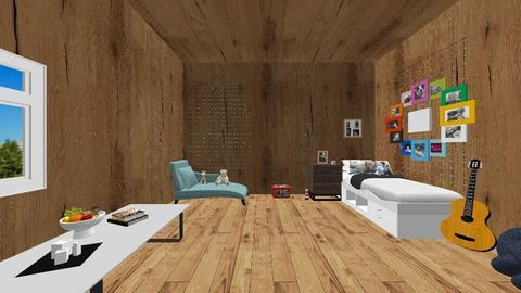 country room - Country - Bedroom  - by sisters marin