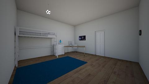 Clase Arquitectura 2D Y 3 - Kids room  - by RafaelAHM25