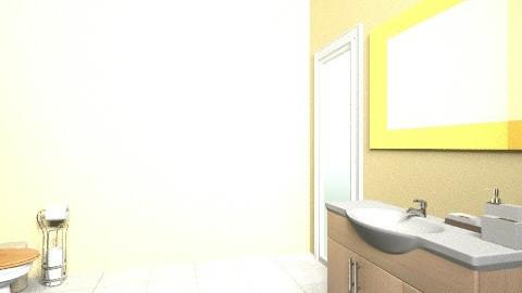 Banheiro Apto - Glamour - Bathroom  - by gessicanery