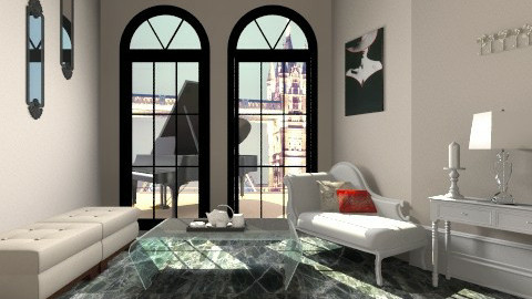 Glam Sitting Room - Glamour - by Narcisse94