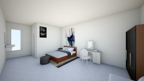 kamar - Minimal - Bedroom - by shafira01