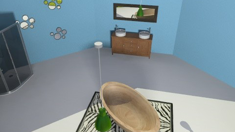 Big Brother Bathroom - Retro - Bathroom  - by designerrich123