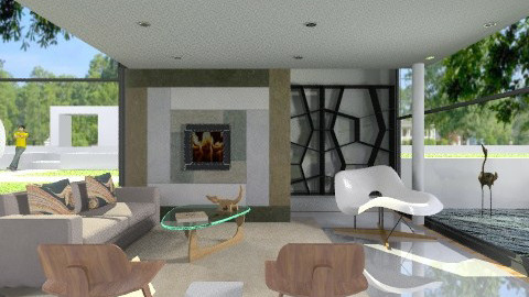 La Chaise - Minimal - Living room  - by marcychapman