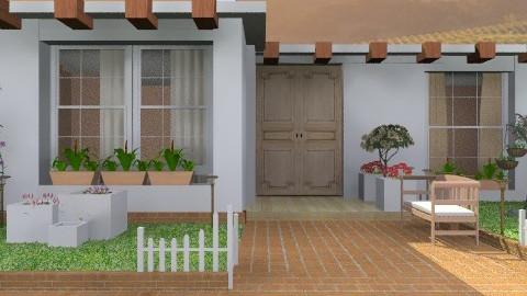little house in the valley - Modern - Garden - by KittiFarkas