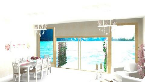 seaside view - Living room - by PaperFlower