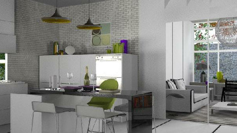 Lemonade_1 - Modern - Kitchen  - by lilica