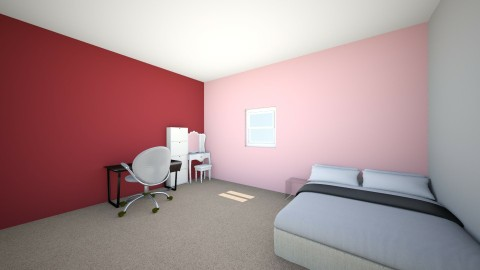 Room re do - Bedroom - by leaha1214