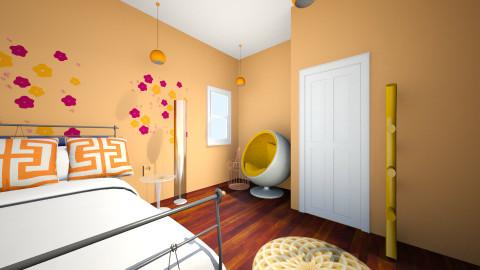 yellow kitchen - Kitchen - by Sydney Hernandez
