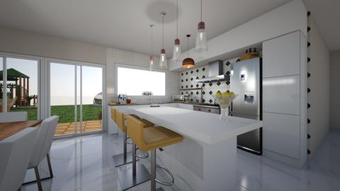 Cocina Fabio - by carrerarquitectura