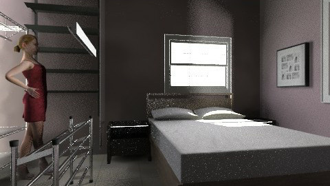 bedroom - Minimal - Bedroom  - by bidago