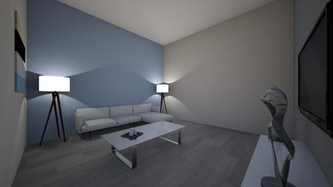 UNFINISHED Design 1  - Modern - Living room - by environiva