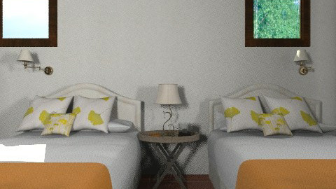 prueba 5 - Rustic - Bedroom  - by susanita