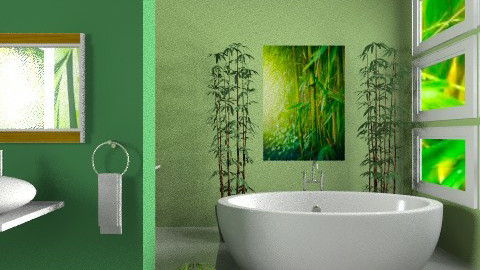 Fresh colors  rx - Bathroom  - by milyca8