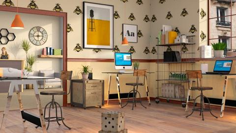 Beehouse Inspired Office - Eclectic - Office  - by Sally Simpson