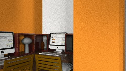 orangeee - Glamour - Office  - by Kimberleyx