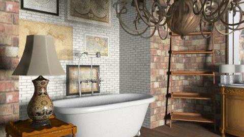 Inspired Vintage Bath - Rustic - Bathroom - by reedj0218