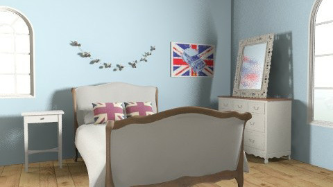 Delightfully British 002. - Country - Bedroom  - by jadebeal