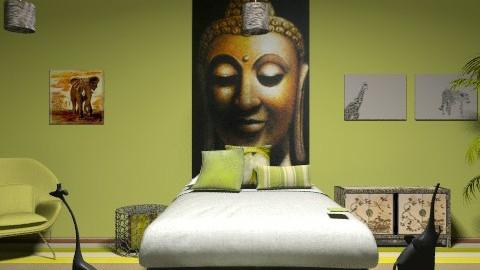 In Africa... - Bedroom - by dancer100