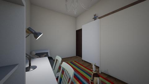 lozko wysuwane  - Kids room - by aska525