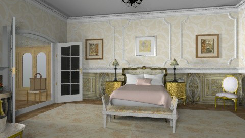 Royal Plaza Suite_bedroom - Classic - Bedroom  - by auntiehelen