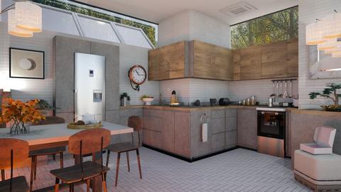 MFhK4 - Modern - Kitchen  - by milyca8