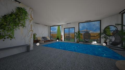 Jacuzzi and swimming pool - by TusaTimea
