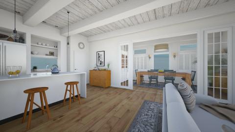 Summer Home - Kitchen  - by LizyD