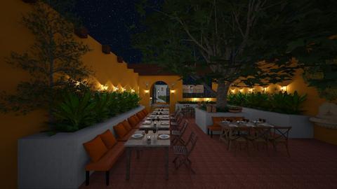 Courtyard - Eclectic - Garden - by Claudia Correia