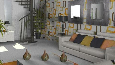 Retro - Retro - Living room  - by Cathd0411