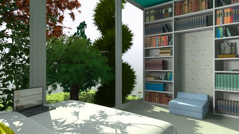Small and pretty bedroom - Modern - Bedroom - by Annano