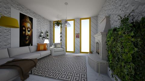 greek living - Living room  - by jrgerye707