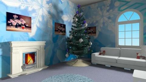 christmas hallway  - Vintage - by Ellieando