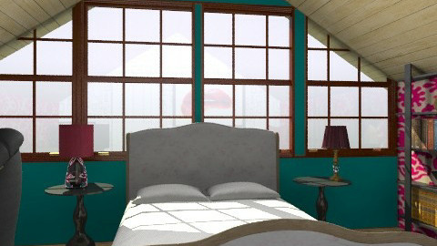 attic hideout - Classic - Bedroom  - by goldengirllover