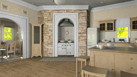 Maple Wood - Kitchen  - by Violetta V