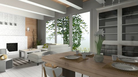 Light and Natural Living - Dining room - by palislee