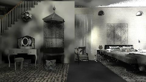 GLEE Kurts Bedroom - Minimal - by devonsia