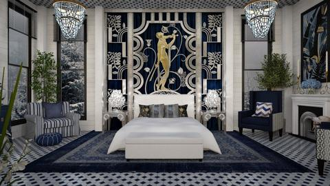 Design 500 Art Deco Bedroom - Bedroom  - by Daisy320