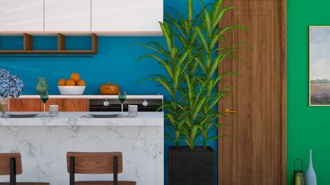 Nature Colors - Kitchen  - by Yudum Kutlu
