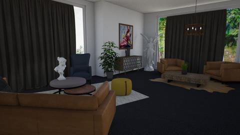 Channel - Living room  - by LillMiaaa