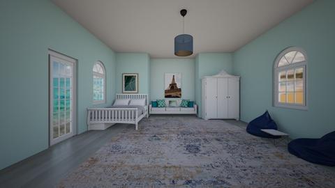 BLUE BEDROOM - Bedroom  - by BrnMstfKml