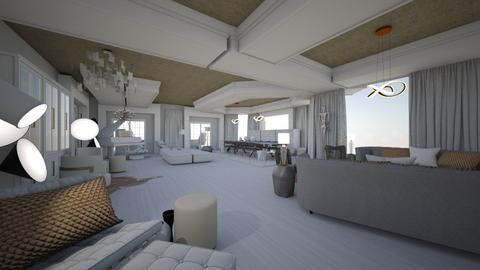 house - Living room - by MihaelK