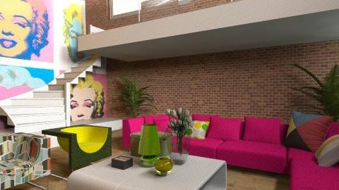 POPart - Modern - Living room  - by Ivana J
