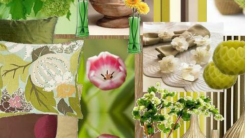 Summer green deco - Modern - Bedroom - by 5ruzk