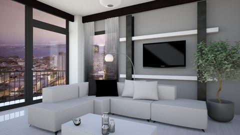 minimalist living room - by ilcsi1860