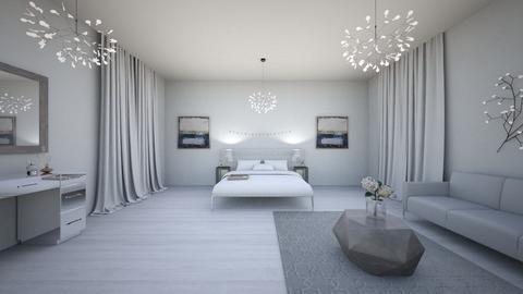 winter room - Classic - Bedroom  - by saraaljenaibi